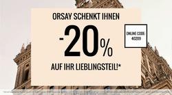 Angebote von Orsay im Berlin Prospekt