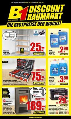 B1 Discount Baumarkt Katalog ( Abgelaufen )