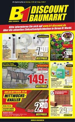 Angebote von B1 Discount Baumarkt im B1 Discount Baumarkt Prospekt ( 3 Tage übrig)