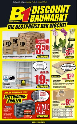 Angebote von B1 Discount Baumarkt im B1 Discount Baumarkt Prospekt ( Läuft heute ab)
