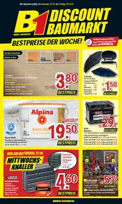B1 Discount Baumarkt Katalog ( Läuft morgen ab)