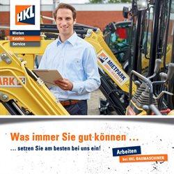 Angebote von Baumärkte und Gartencenter im HKL Baumaschinen Center Prospekt in Frankfurt am Main ( Mehr als 30 Tage )