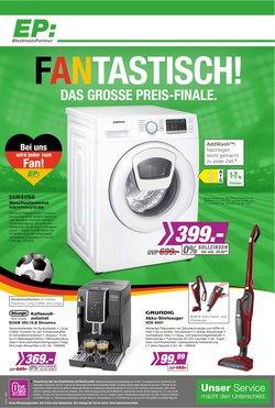 Angebote von Elektromärkte im Electronic Partner EP Prospekt ( 5 Tage übrig)