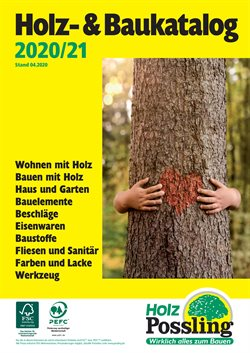 Holz Possling Katalog ( Abgelaufen )