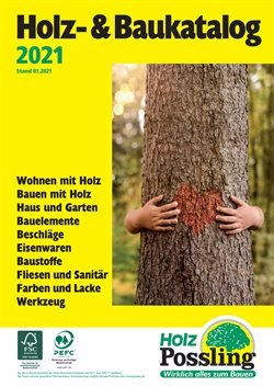 Holz Possling Katalog ( Mehr als 30 Tage )