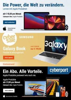 Angebote von Elektromärkte im Cyberport Prospekt ( Läuft heute ab)