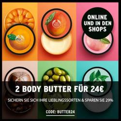 Angebote von The Body Shop im Berlin Prospekt