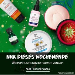Angebote von Drogerien und Parfümerien im The Body Shop Prospekt in Oberhausen