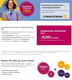 Commerzbank Katalog ( Mehr als 30 Tage )