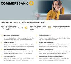 Angebote von Banken und Versicherungen im Commerzbank Prospekt ( Läuft morgen ab )