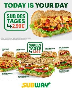 Subway Katalog ( 3 Tage übrig )