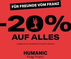 Angebote von Humanic im Humanic Prospekt ( 4 Tage übrig)