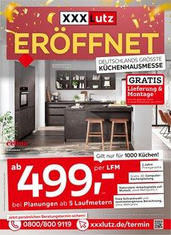 Angebote von Möbelhäuser im XXXLutz Prospekt ( 3 Tage übrig)