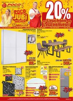 Angebote von Möbelhäuser im Poco Prospekt ( Gestern veröffentlicht)