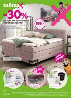 Angebote von Möbelhäuser im Mömax Prospekt ( Läuft morgen ab)