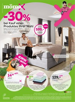 Angebote von Möbelhäuser im Mömax Prospekt ( 3 Tage übrig)