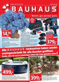 Angebote von Baumärkte und Gartencenter im Bauhaus Prospekt ( 7 Tage übrig)