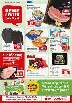REWE Katalog in Frankfurt am Main ( Läuft morgen ab )