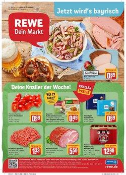 Angebote von Supermärkte im REWE Prospekt ( Läuft morgen ab)