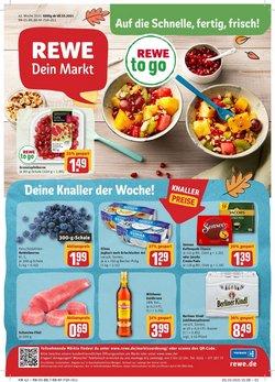 Angebote von Supermärkte im REWE Prospekt ( Gestern veröffentlicht)