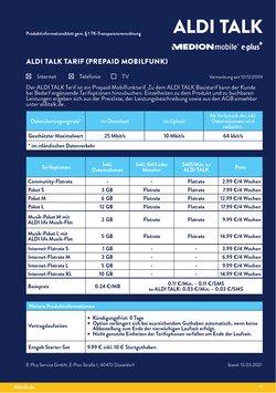 Angebote von Medion im Aldi Nord Prospekt ( 7 Tage übrig)