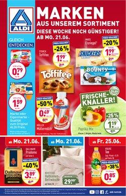 Angebote von Discounter im Aldi Nord Prospekt ( Gestern veröffentlicht)