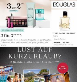 Angebote von Douglas im Douglas Prospekt ( 3 Tage übrig)