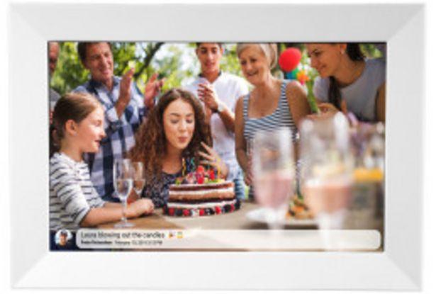 Denver Digitaler Bilderrahmen PFF-1014 weiß für 71,99€