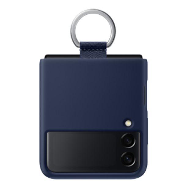 Silicone Cover mit Ring EF-PF711 für das Galaxy Z Flip3 5G für 39,9€