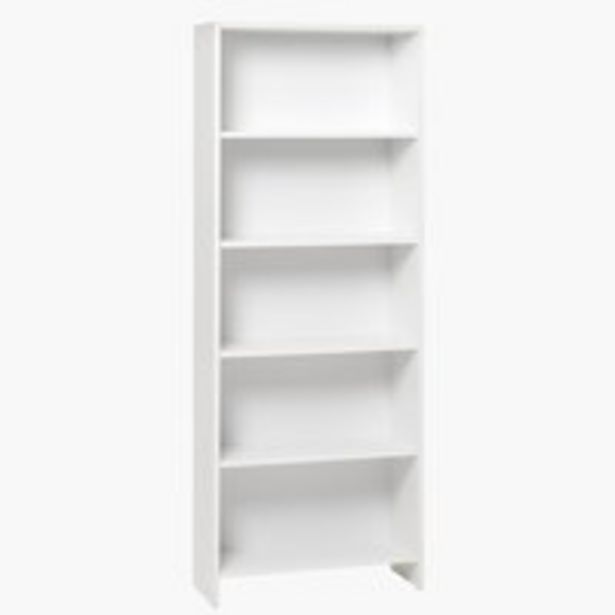 Bücherregal GISLINGE 5 Böden weiß für 30€