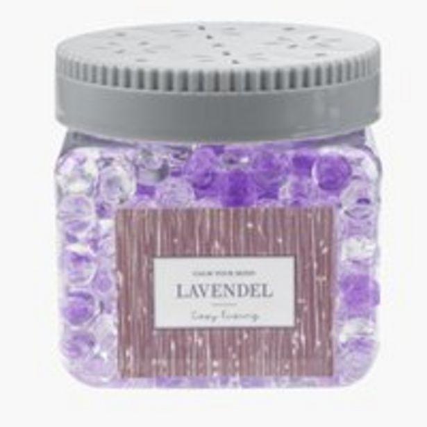 Duftperlen CARL violett im Glas m/Deckel für 2€