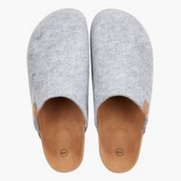 Pantoffeln CATO Größe 36-45 grau für 15€