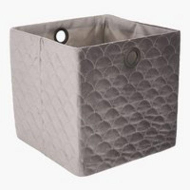 Korb MARIE 30x30x30cm grau für 12,99€