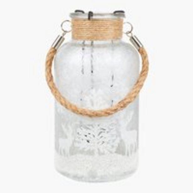 Teelichthalter KRYBBE Ø10xH20cm Glas für 5,99€