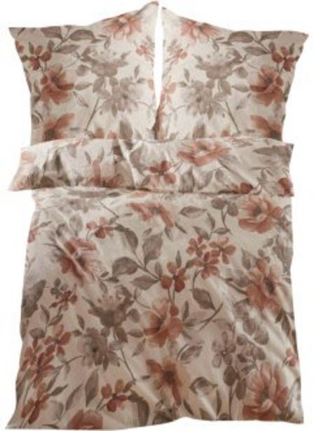 Bettwäsche mit Blumen Design für 11,99€
