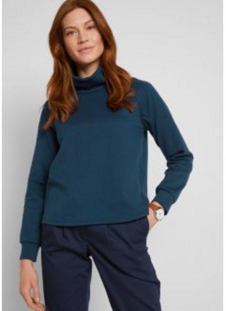 Sweatshirt mit großem Kragen für 12,99€