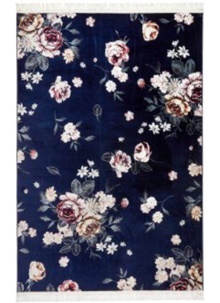 Teppich mit Blumen-Design für 9,99€