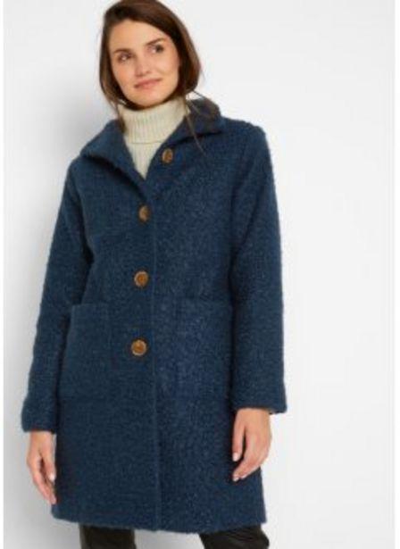 Boucle-Mantel mit Taschen für 64,99€