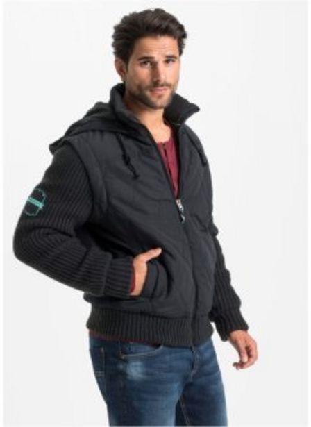 Jacke mit Strickärmeln für 49,99€