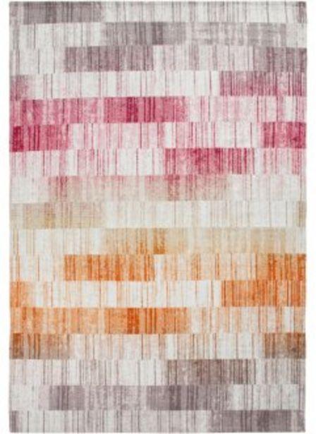 In- und Outdoor Teppich mit Streifen für 6,99€