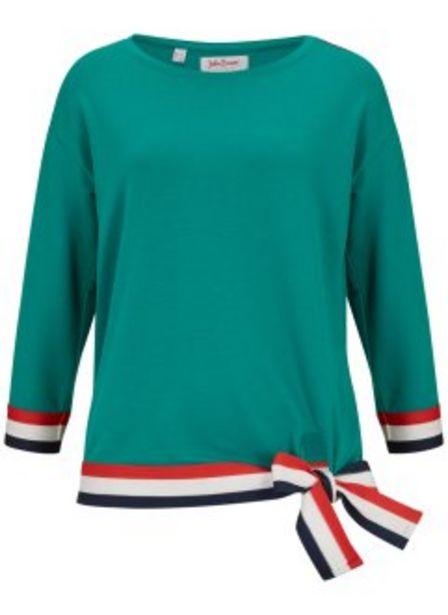 Sweatshirt, 3/4-Arm für 14,99€