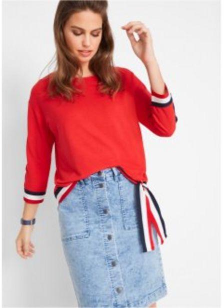 Sweatshirt, 3/4-Arm für 12,99€