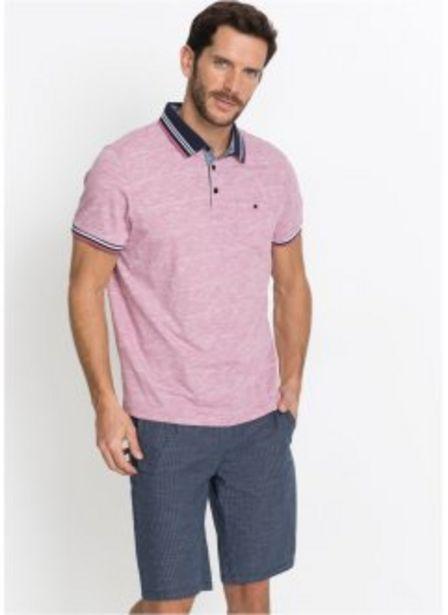 Poloshirt mit Brusttasche, Kurzarm für 6,99€