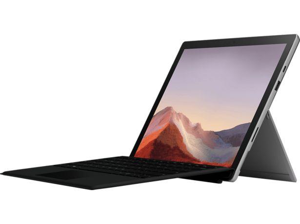MICROSOFT Surface Pro 7, Convertible mit 12,3 Zoll Display, Core™ i5 Prozessor, 8 GB RAM, 256 GB SSD, Intel® Iris™ Plus Grafik, Platinum für 839,5€