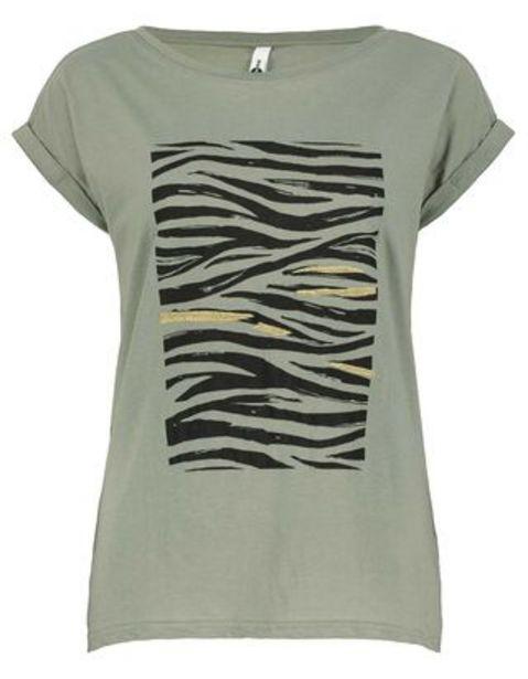 Damen T-Shirt mit Print für 4,99€
