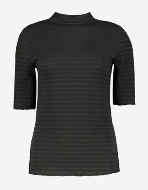 Damen T-Shirt - Rippenstruktur für 9,99€
