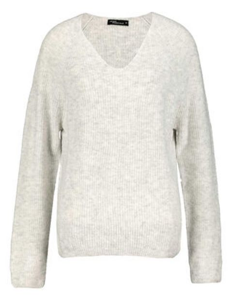 Damen Pullover mit V-Ausschnitt für 7,99€