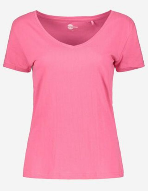 Damen T-Shirt - V-Ausschnitt für 2,99€