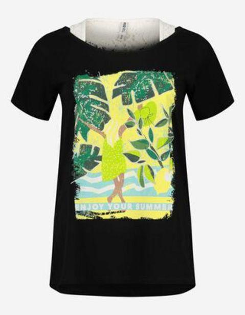 Damen T-Shirt - Double-Layer Look für 9,99€