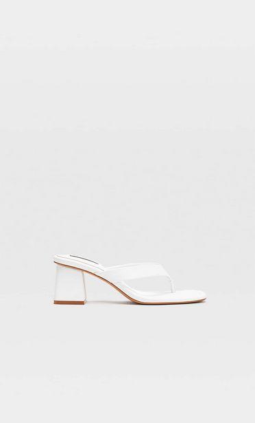 Farbige Sandalen mit Absatz für 19,99€
